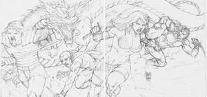 Sketch Red Sonja by MARCIOABREU7