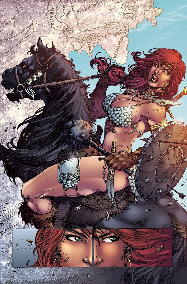 Red Sonja #73_ by MARCIOABREU7