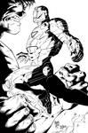 Ironman Hulk Ink