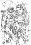 She-ra and He-man