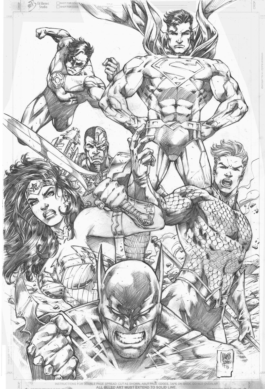 Justice League by MARCIOABREU7