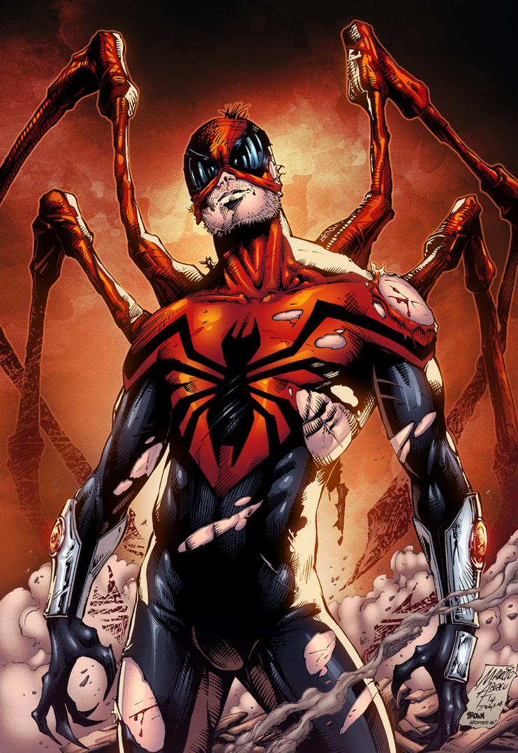 Superior Spiderman Color by MARCIOABREU7