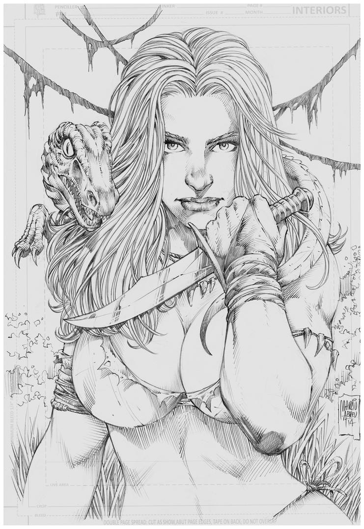 Jungle Girl Marcio Abreu  by MARCIOABREU7