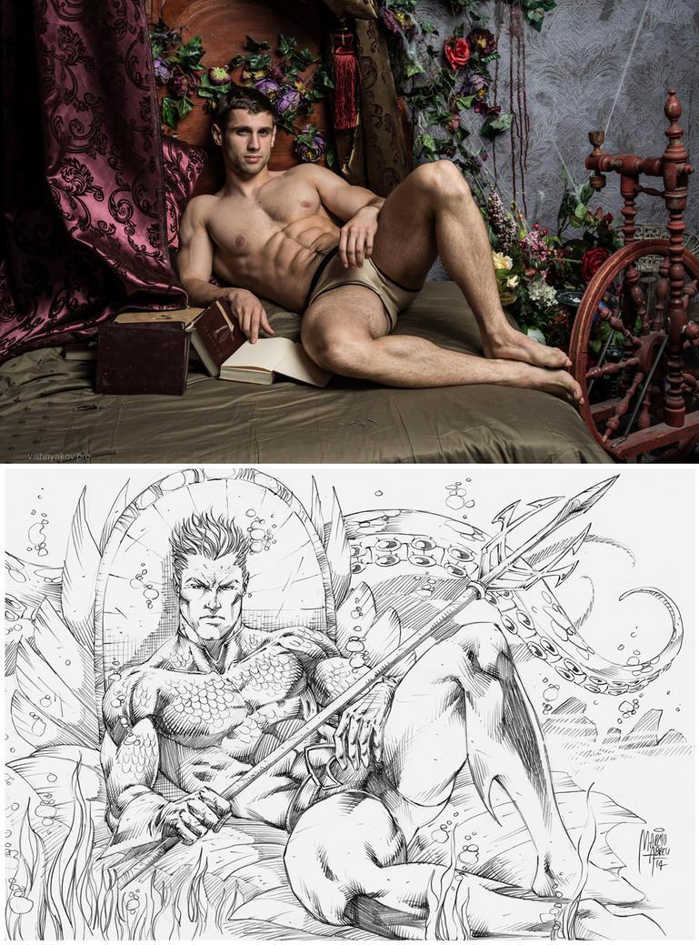 Aquaman process! by MARCIOABREU7