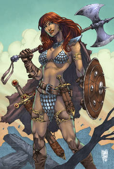 Red Sonja Colors