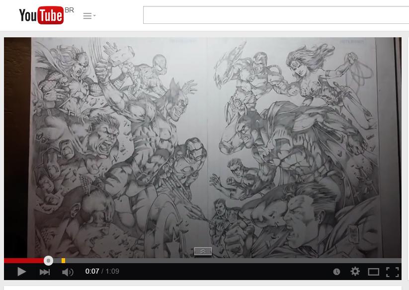 Marvel vs DC Youtube! by MARCIOABREU7