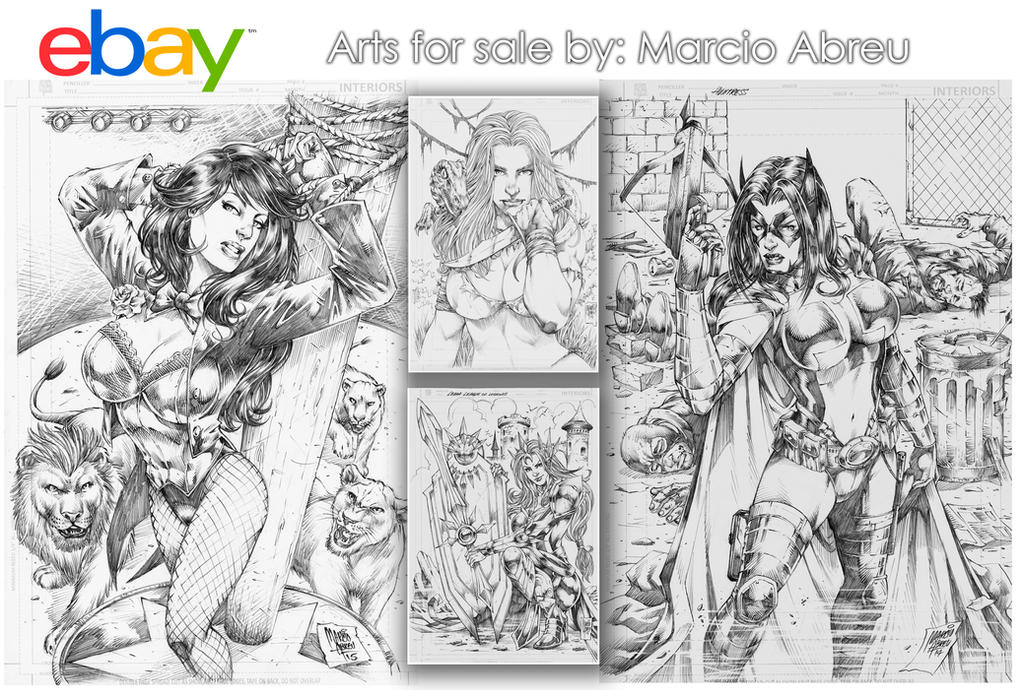 AUCTION PINUPS FOR SALE!!! by MARCIOABREU7