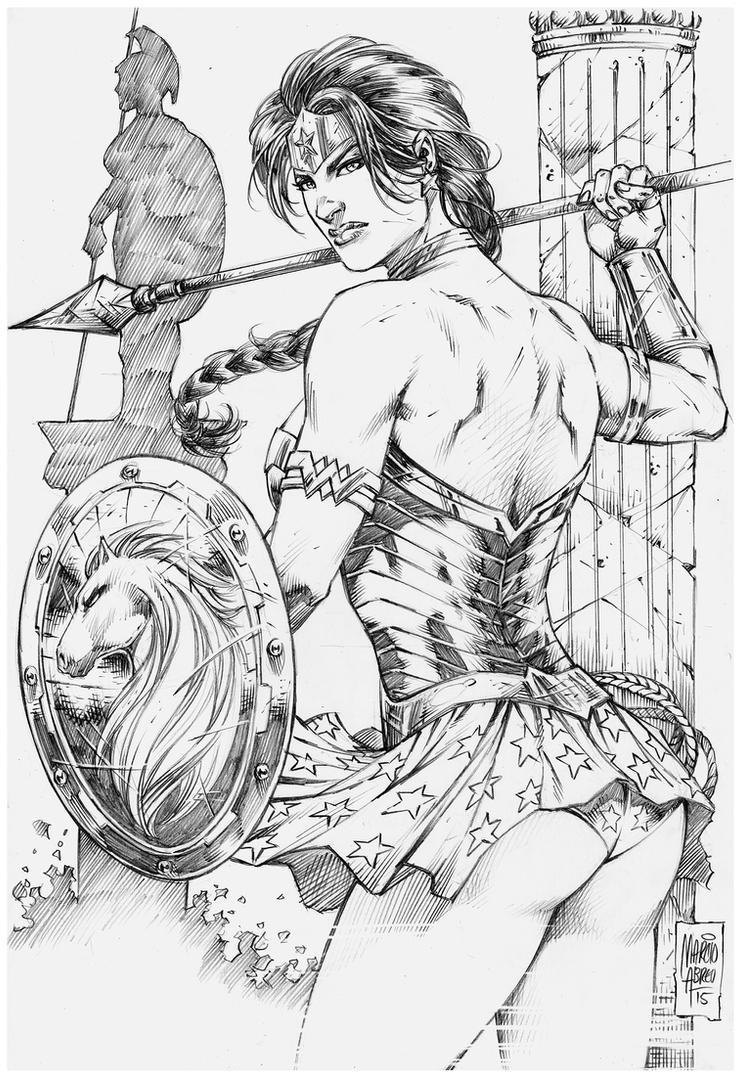 Wonder Woman by MARCIOABREU7