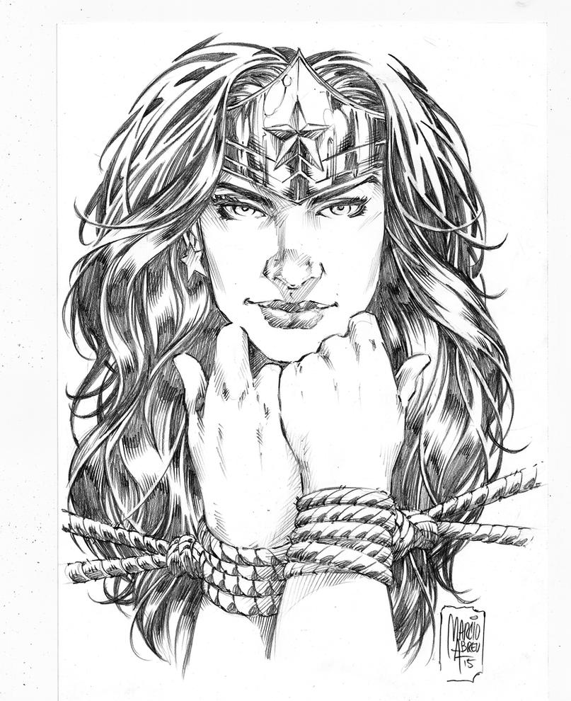 Wonder Woman Slave by MARCIOABREU7