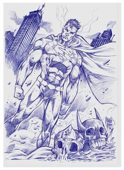 Superman Pen BIC