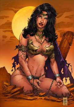 Dejah Thoris Color