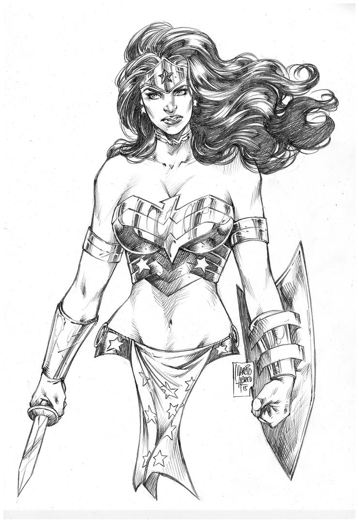 Wonder Woman by MARCIOABREU7