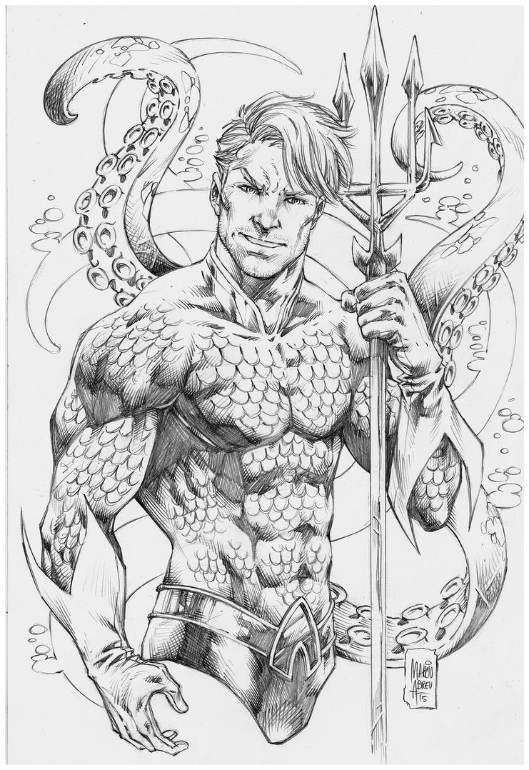 Aquaman Marcio Abreu By MARCIOABREU7 On DeviantArt