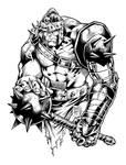 Hulk Medieval  Ink