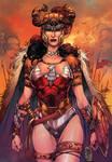 Wonder Woman Warrior Color