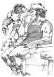 Wolverine vs Juggernaut _ Marcio Abreu