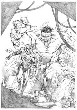 Hulk vs Spiderman _ Marcio Abreu