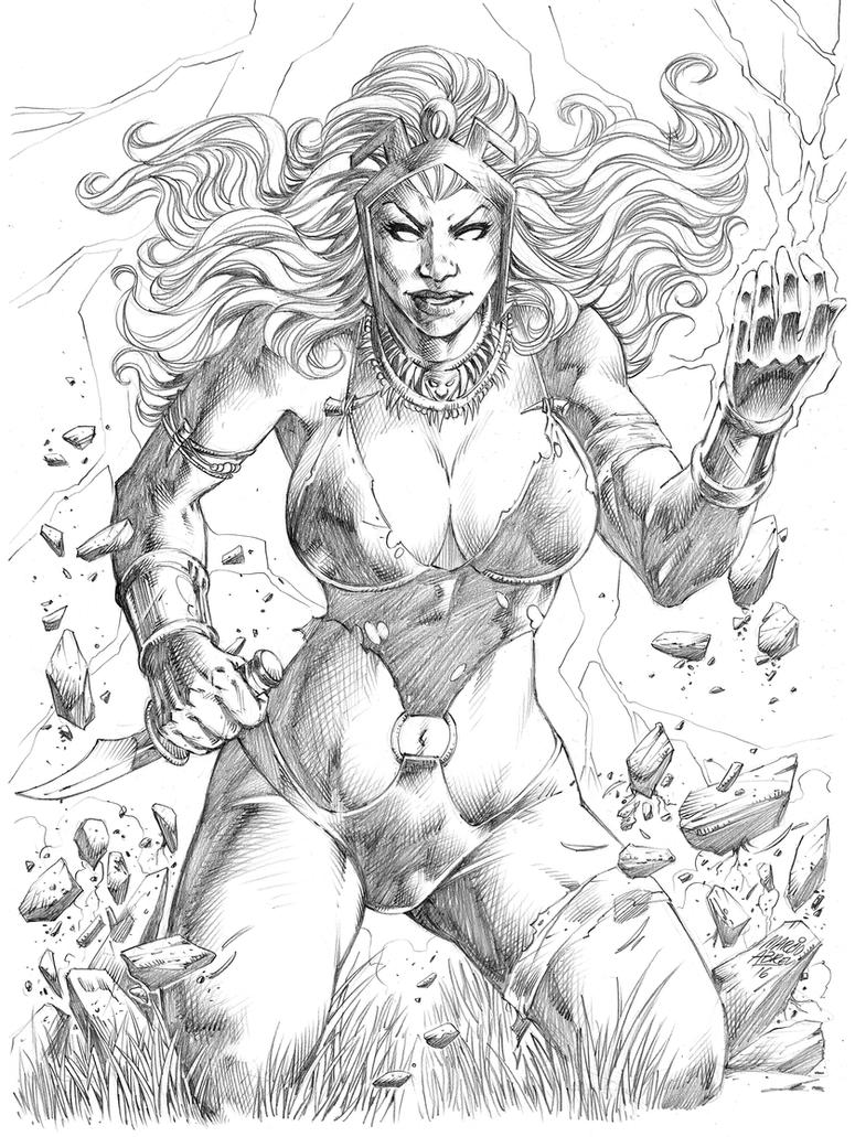 Storm Savage Land - Marcio Abreu by MARCIOABREU7