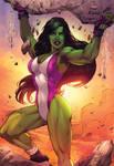 She Hulk Colors -  Marcio Abreu