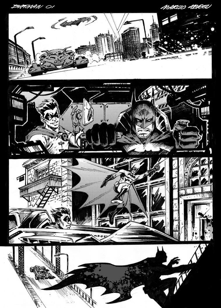 Sample Batman 01 - Marcio Abreu by MARCIOABREU7
