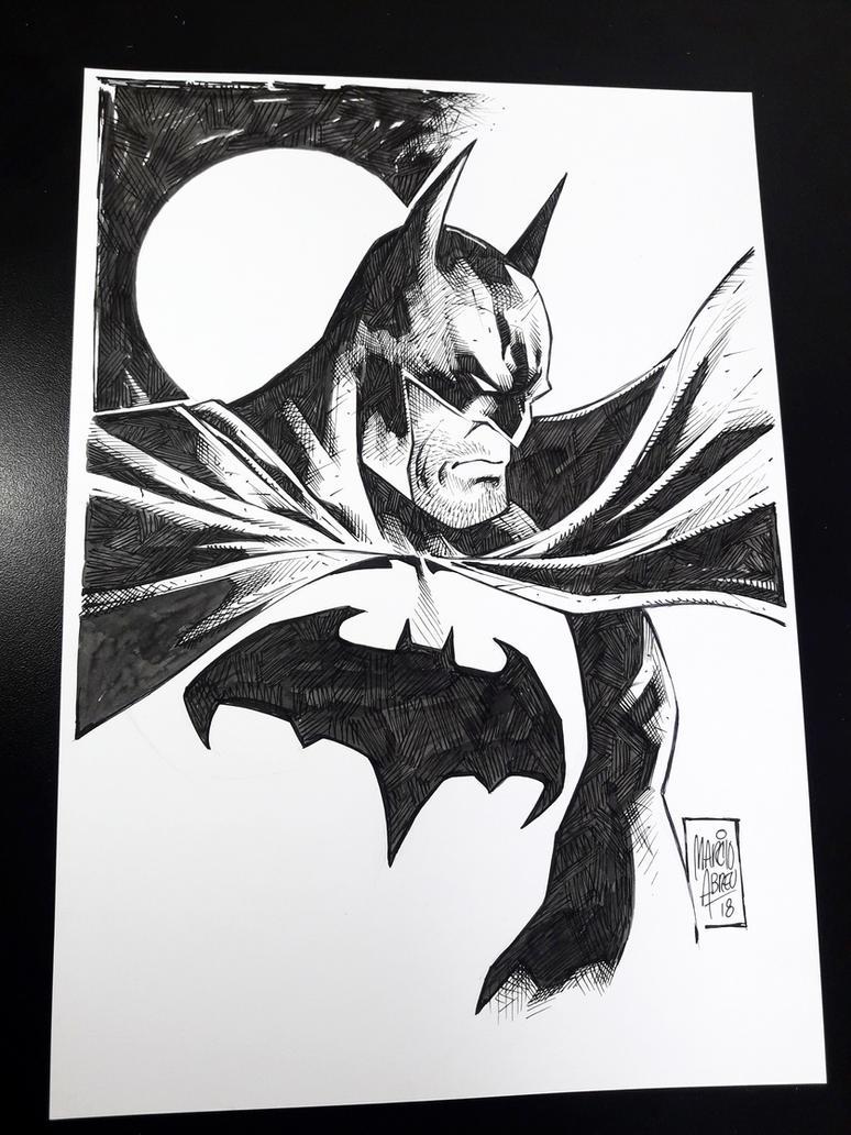 Batman Marcio Abreu by MARCIOABREU7