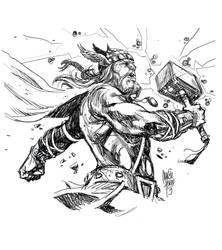 Thor - Marcio Abreu by MARCIOABREU7