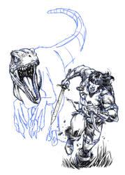 CONAN - Digital Sketch by MARCIOABREU7