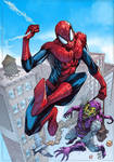 Spider-Man vs Green Goblim  Marcio Abreu