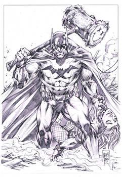 Batman vs Harley Quinn _ Marcio Abreu