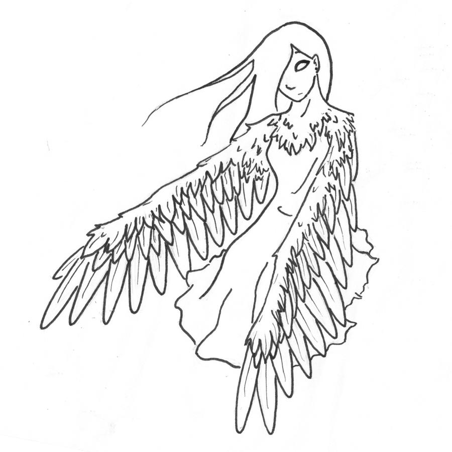 how to draw a siren greek mythology