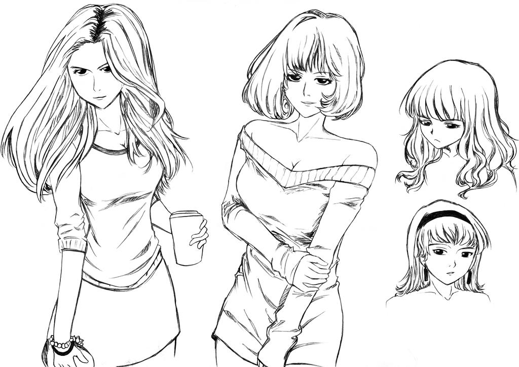 Sketches by ZaChSyafiQ