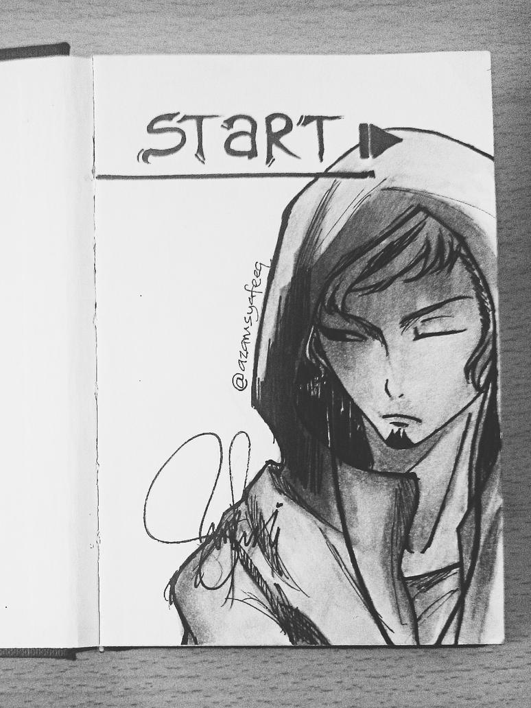 Moleskin sketchbook - START by ZaChSyafiQ
