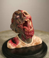 Zombie sculpture by cassiaharries