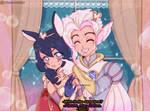 90's anime / / SweetHeart Rakan x Xayah