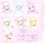 Aesthetic YCH // Open *unlimited slots*