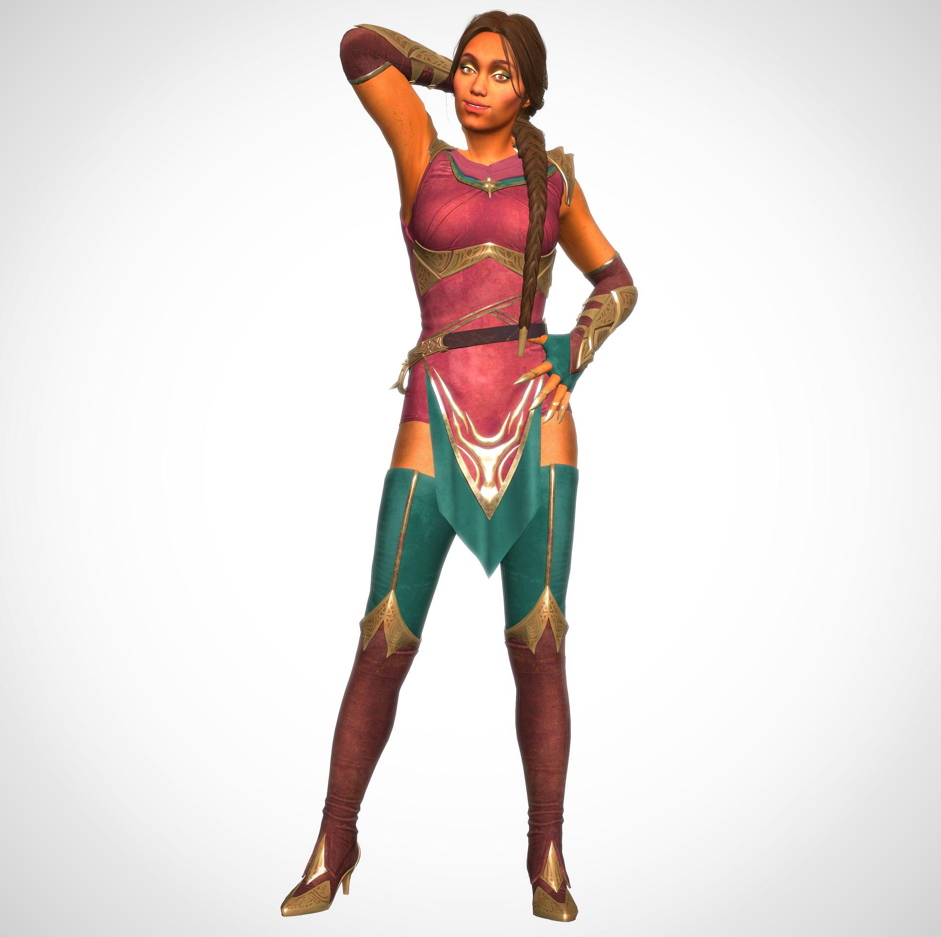Mortal Kombat 11 Jade By Melaverie On Deviantart