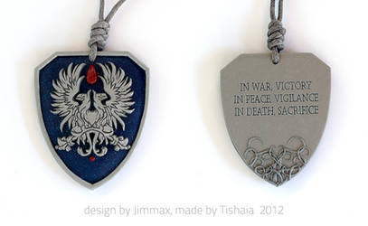 Contest winner - Warden Commander Tribute Pendant by tishaia