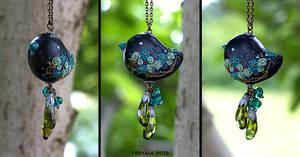 Blue Birdie by tishaia
