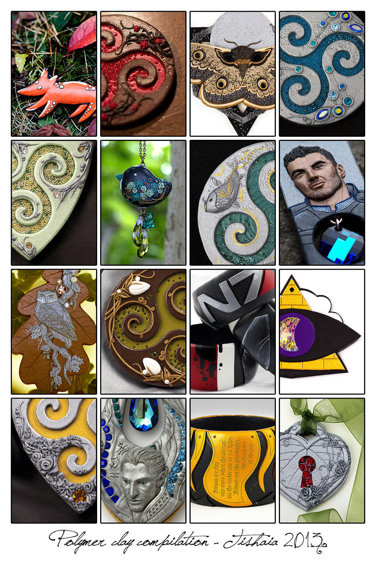 Polymer Clay Compilation 2013 by tishaia