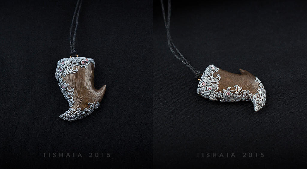 Dragon's tooth split in two by tishaia