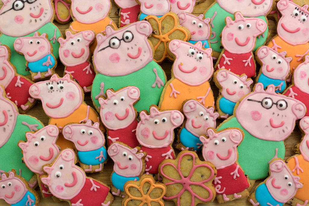 Peppa the Cookie by tishaia
