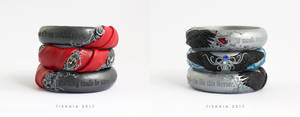 DA2 Bracelets by tishaia