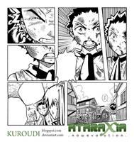 Ataraxia vol.2 Kyle panels by Kuroudi