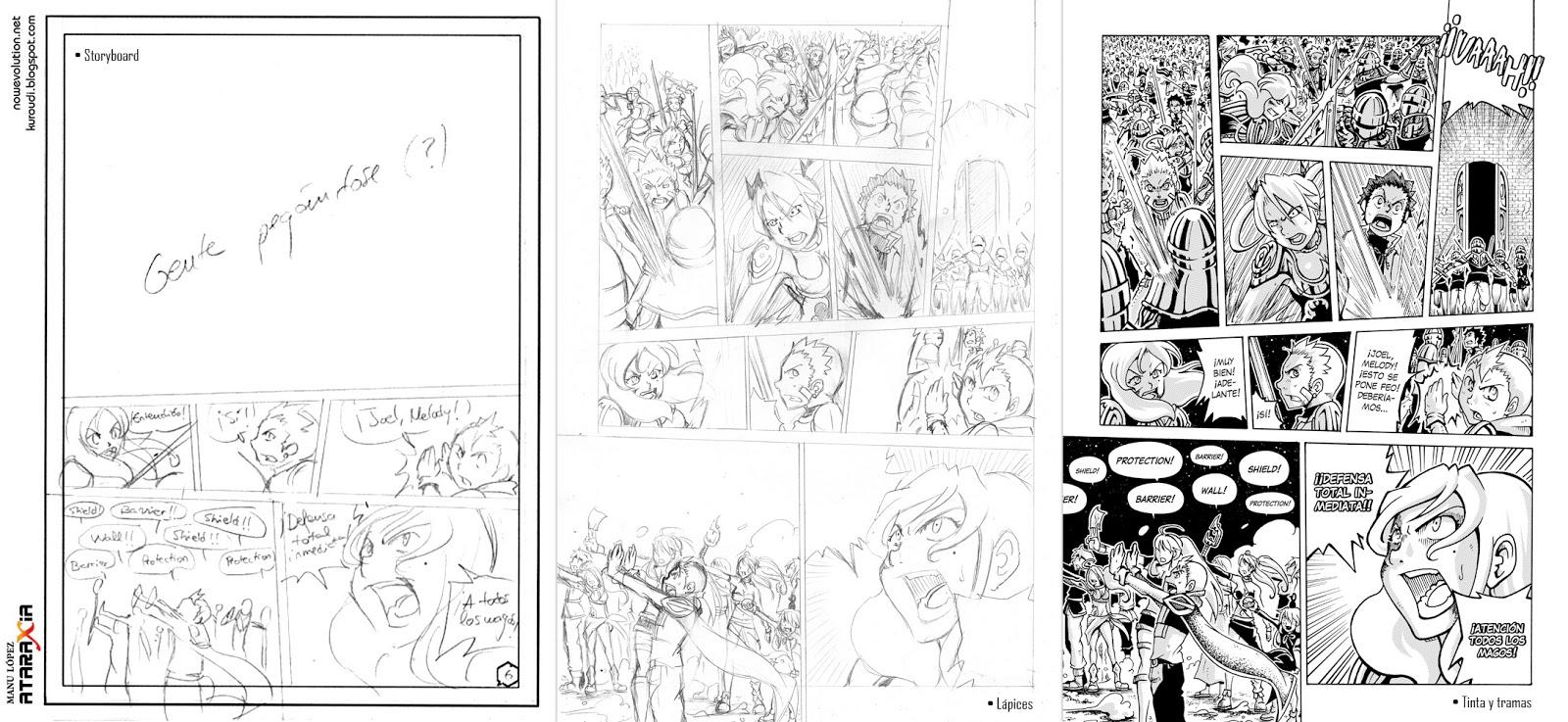 Ataraxia vol.4 page process by Kuroudi