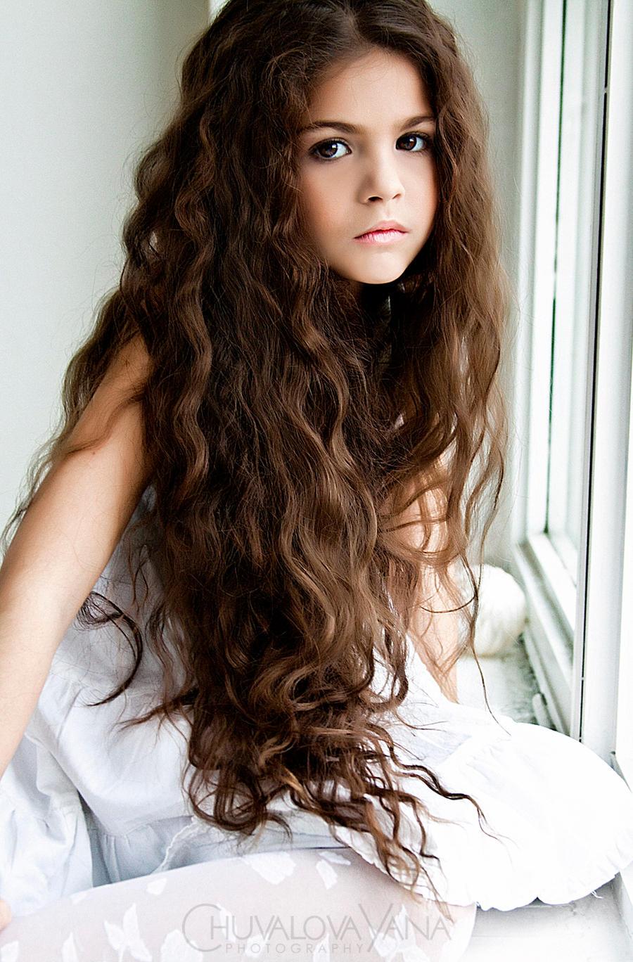 У тебя такие красивые волосики