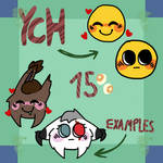 Cursed wholesome emoji YCH! {Temporarely closed}