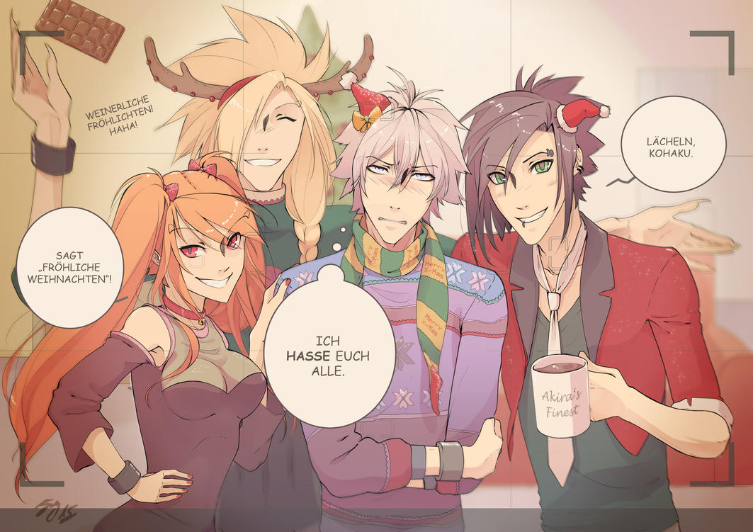 Shitty Christmas by KuroKohaku