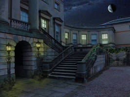 Day to Night - Corner Staircase