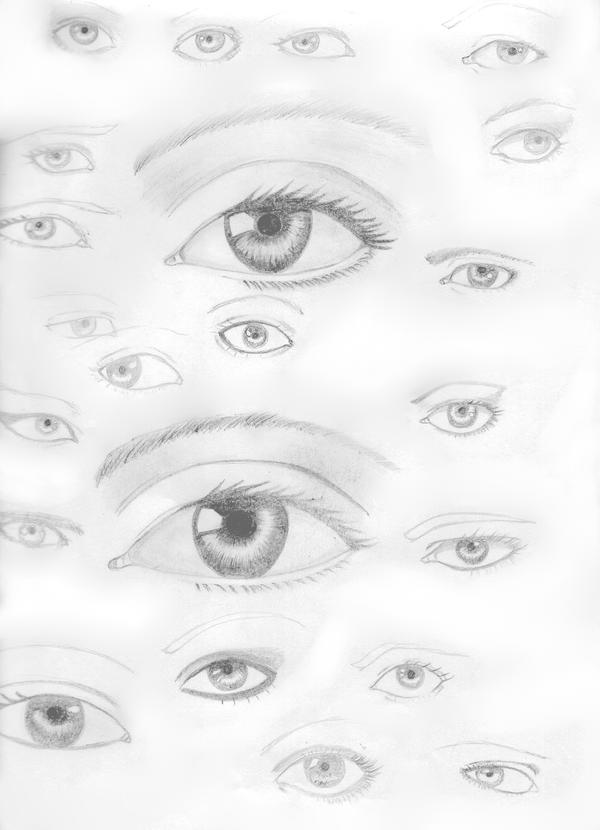 Eye Practice by CocoaMoth