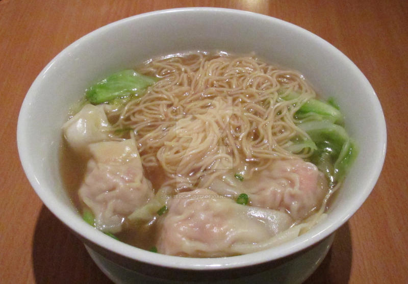 Wonton Noodle Soup by GiftedChild777